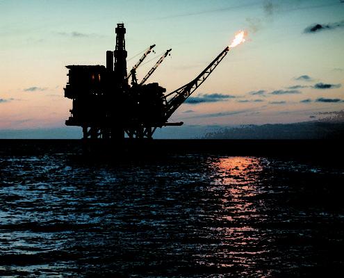scheepvaart en offshore booreiland