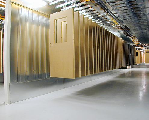 Timmer- en meubelindustrie deuren