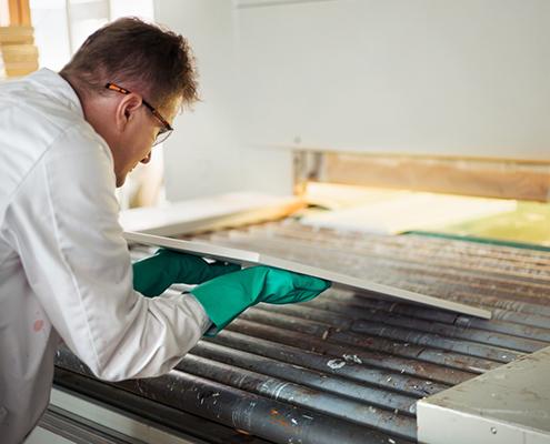 Timmer- en meubelindustrie keukenpanelen