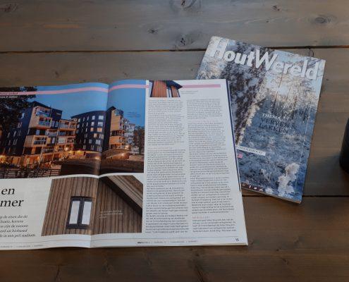 Artikel Houtwereld - Finnpro