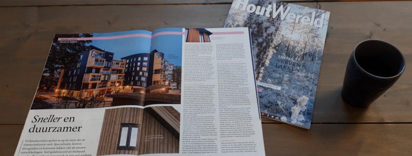 Finnpro.nl | Nieuws | Artikel Houtwereld | Tikkurila