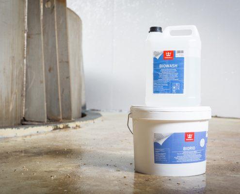 Finnpro.nl | Drytech functionele coatings | BioRid coating | Biowash | Tikkurila
