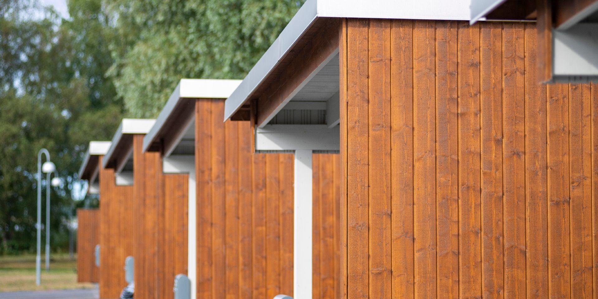 Finnpro.nl Nieuws | houten rijtjeshuizen in Nukoping, Zweden | Super Colors | Pinja Color Plus | Tikkurila